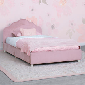 Upholstered Twin Bed