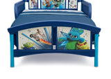 Disney/Pixar Toy Story 4 Plastic Toddler Bed, Footboard Detail View