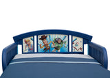 Disney/Pixar Toy Story 4 Plastic Toddler Bed, Headboard Detail View