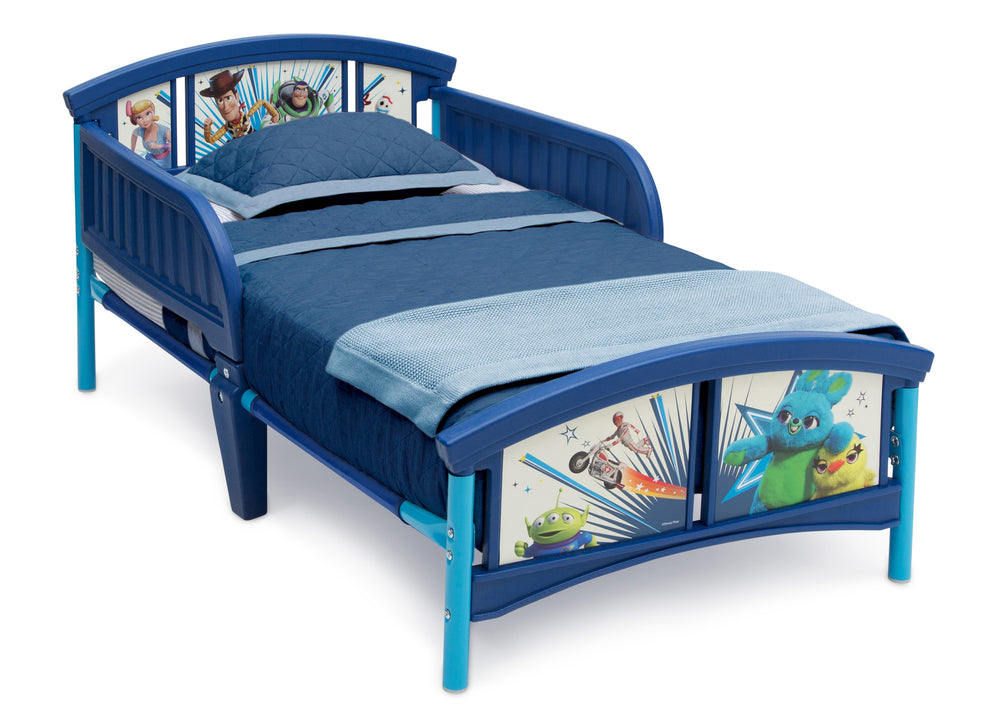 Disney/Pixar Toy Story 4 Plastic Toddler Bed, Right Silo View