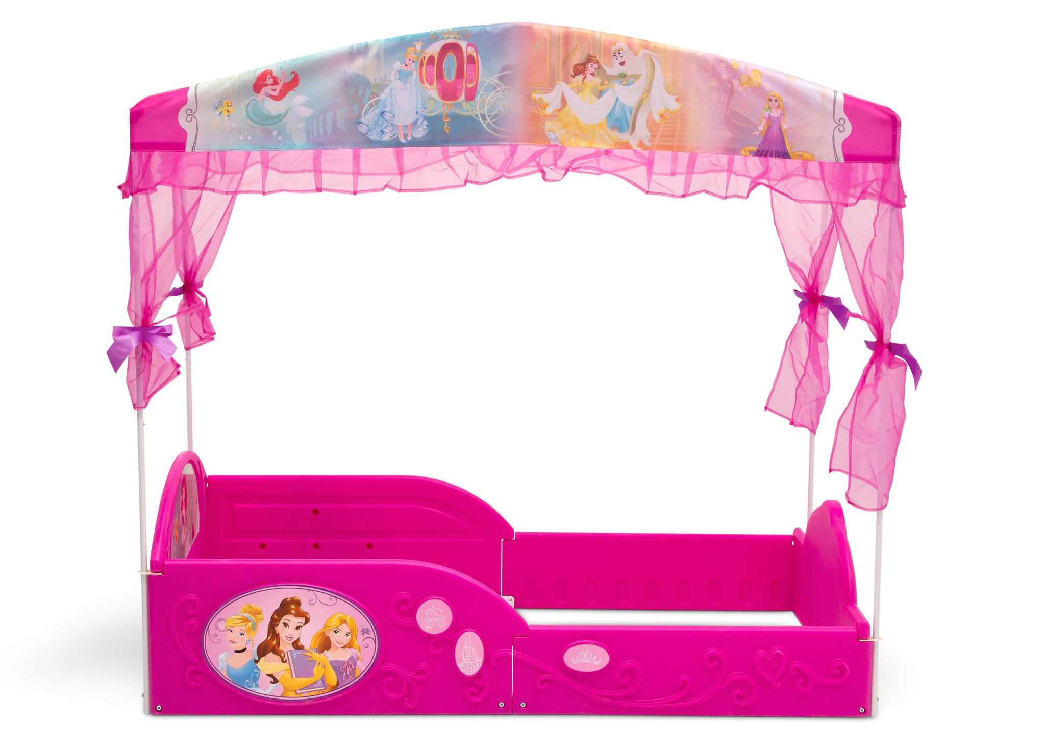 Disney Princess Plastic Sleep and Play Toddler Bed with ...
