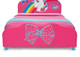 Delta Children JoJo Siwa Twin Bed, Footboard Detail View