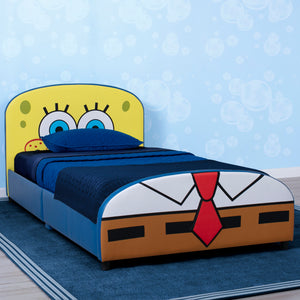 SpongeBob SquarePants Upholstered Twin Bed