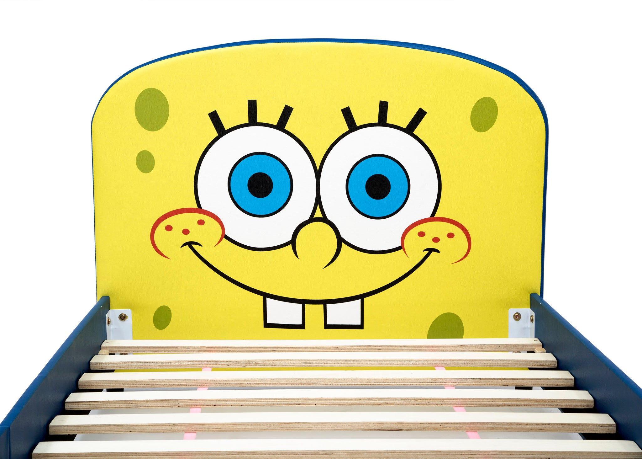 Delta Children SpongeBob (1112) SquarePants Upholstered Twin Bed, Headboard Silo View