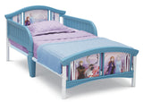 Delta Children Frozen 2 (1097) Plastic Toddler Bed, Right Silo View