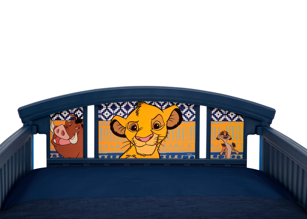 Delta Children The Lion King Plastic Toddler Bed, Headboard View