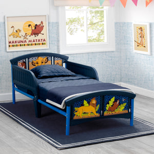 The Lion King Plastic Toddler Bed