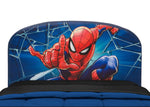 Delta Children Spider-Man Twin Bed, Headboard Detail View