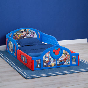 Mickey Mouse Plastic Sleep and Play Toddler Bed