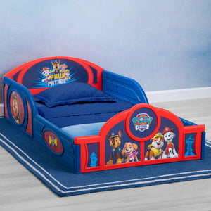PAW Patrol Plastic Sleep and Play Toddler Bed