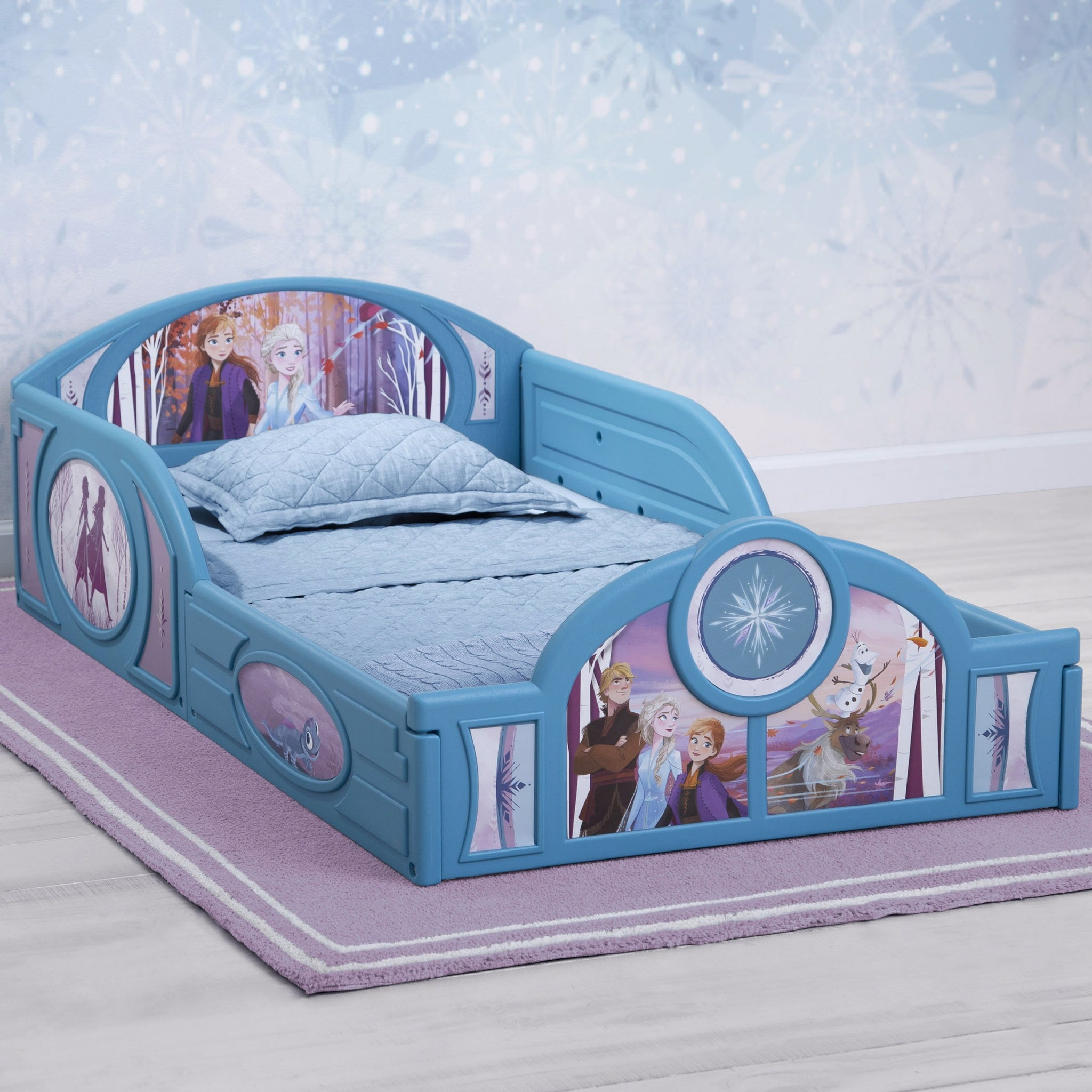 Frozen II Sleep and Play Toddler Bed
