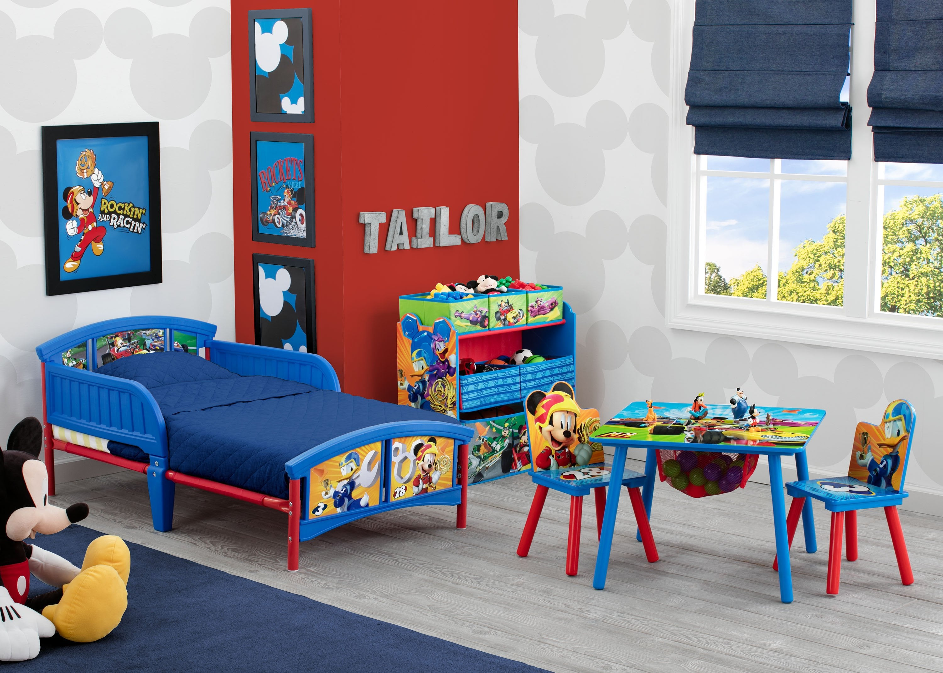 Mickey Mouse Plastic Toddler Bed | Delta Children