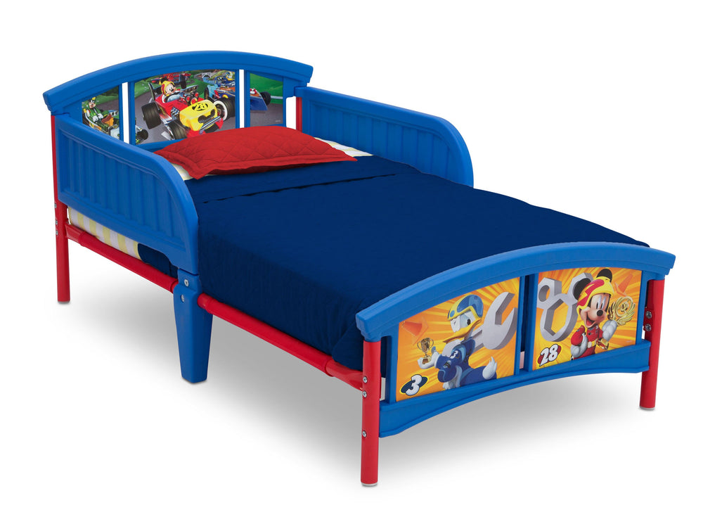 Delta Children Mickey Mouse (1053) Plastic Toddler Bed (BB86602MM), Right View a1a