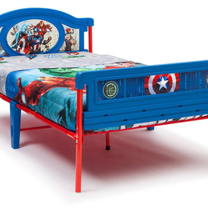 Delta Children Avengers Twin Bed Style 1, Right View b1b