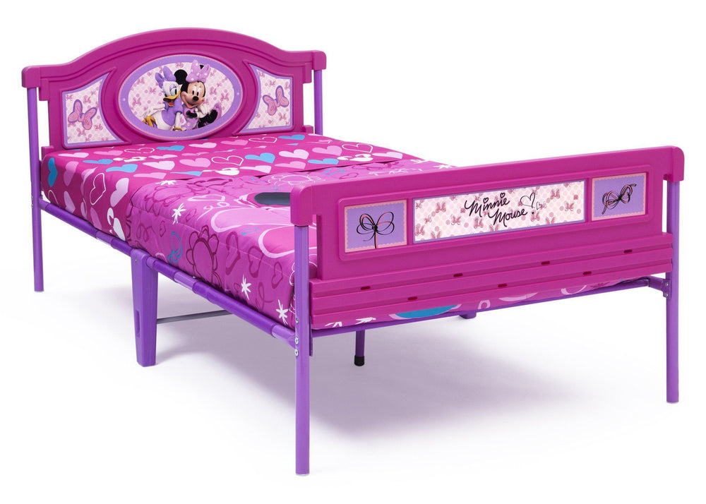 Delta Children Minnie Mouse Twin Bed, Right View a1a