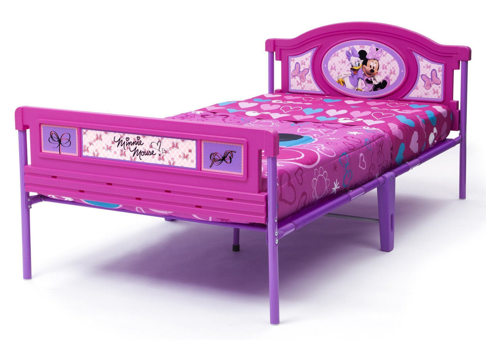 Delta Children Minnie Mouse Twin Bed, Left View a2a