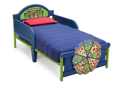 Teenage Mutant Ninja Turtles Plastic 3D Toddler Bed