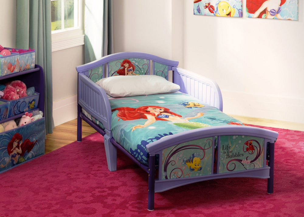 Little Mermaid Plastic Toddler Bed