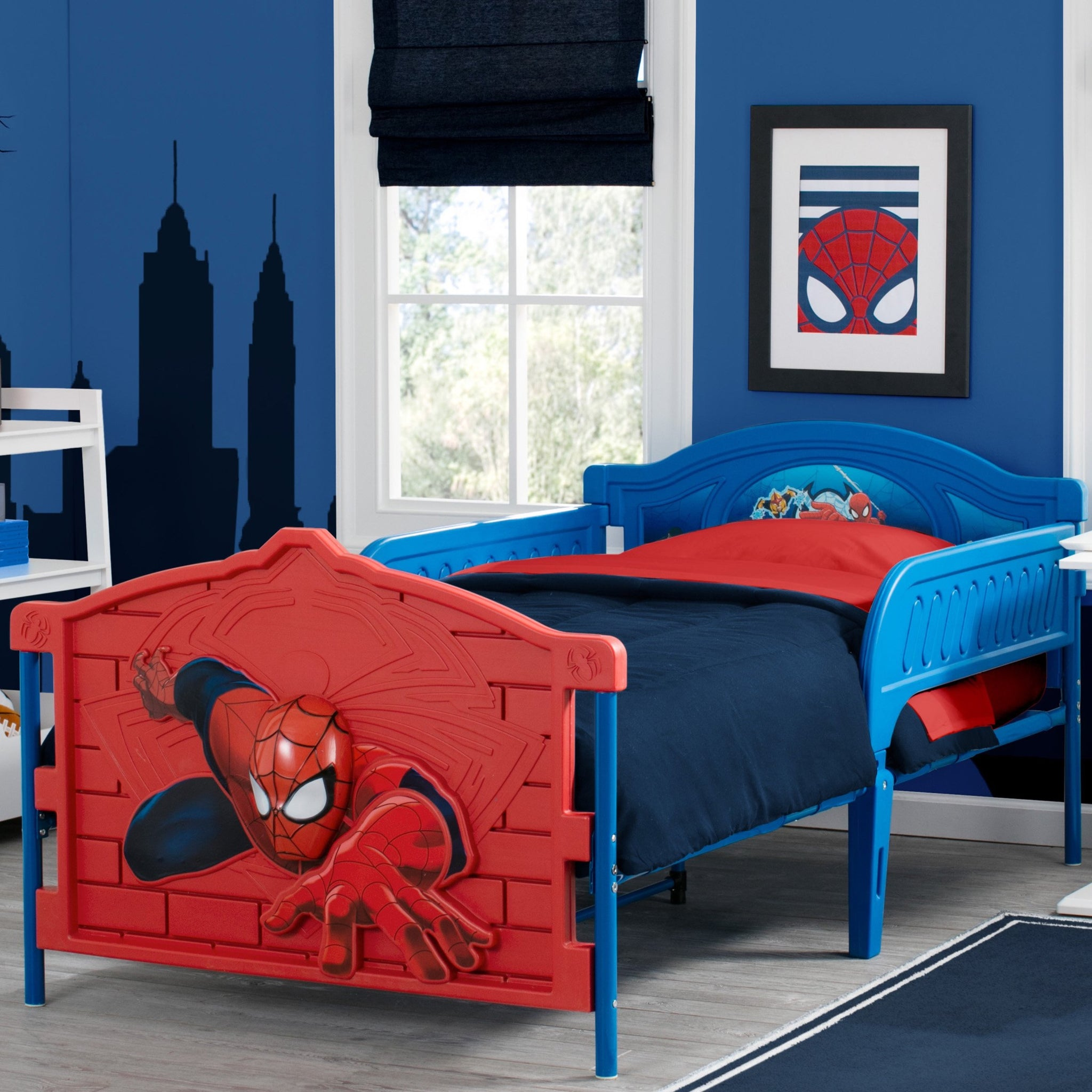 Spider-Man Plastic 3D Twin Bed