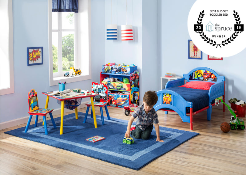 Nick Jr Blaze And The Monster Machines Upholstered Chair