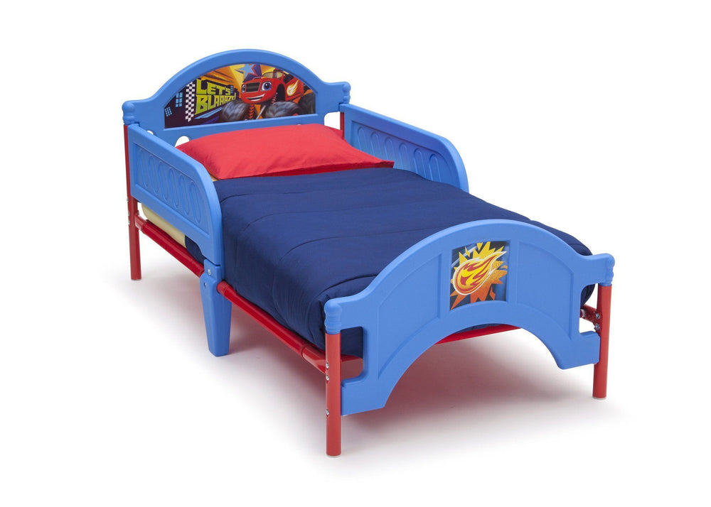 Delta Children Blaze and the Monster Machines Toddler Bed, Right View a2a