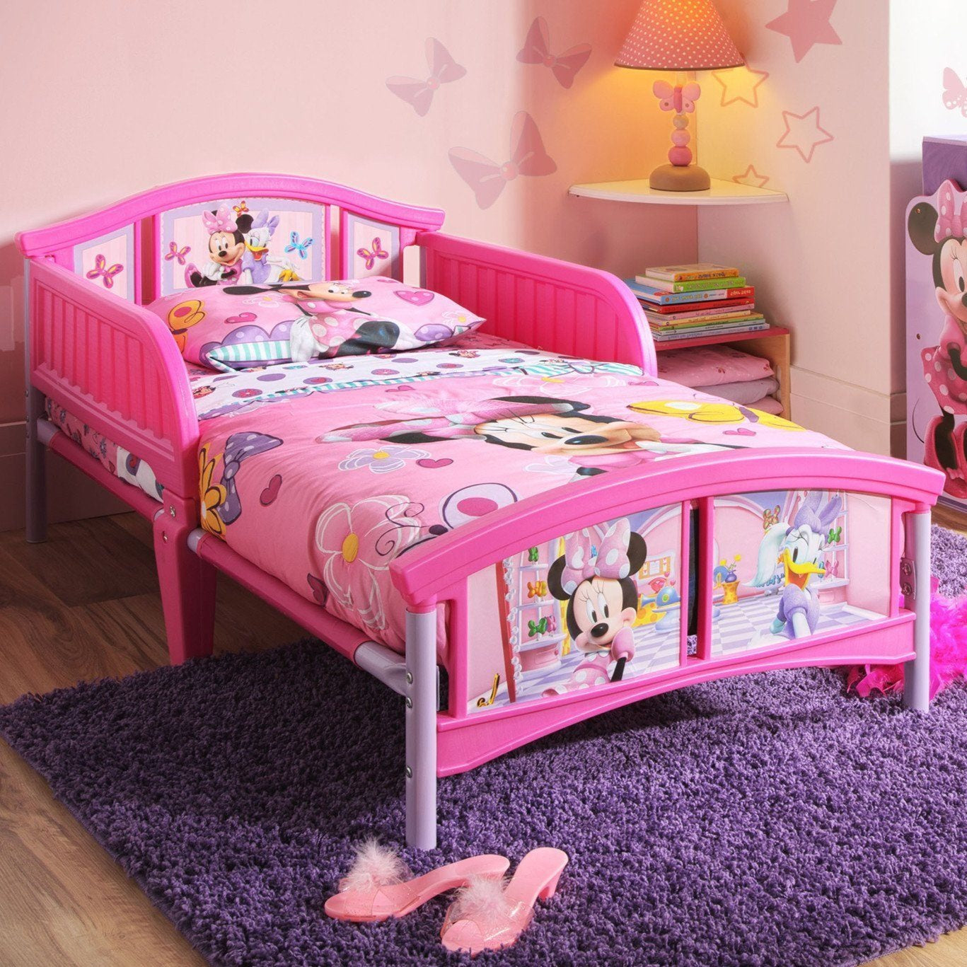Minnie Mouse Plastic Toddler Bed