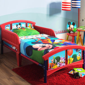 Mickey Mouse Plastic Toddler Bed