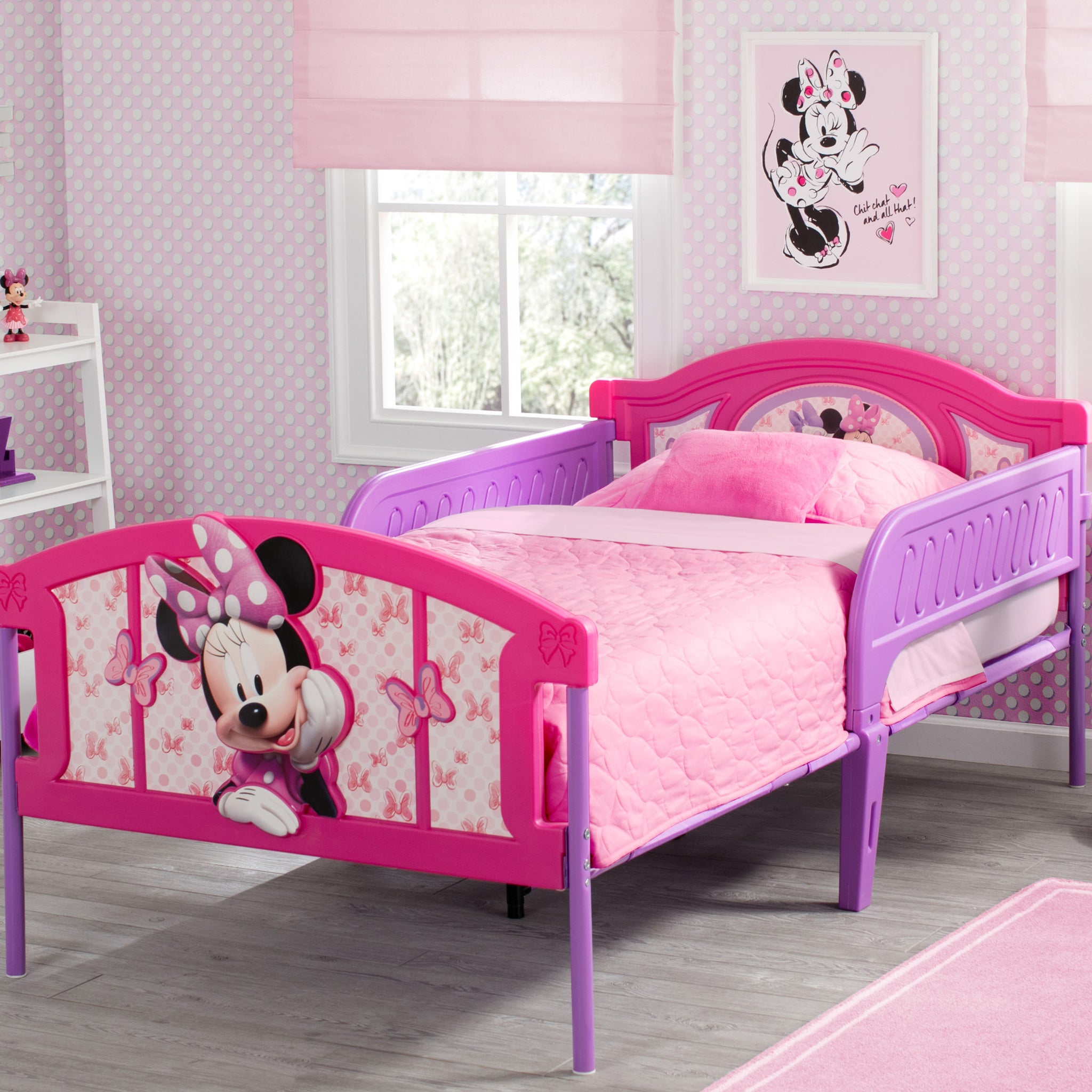 Minnie Mouse Plastic 3D Twin Bed