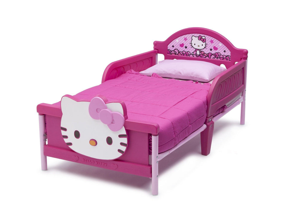 Hello Kitty Plastic 3d Toddler Bed Delta Children