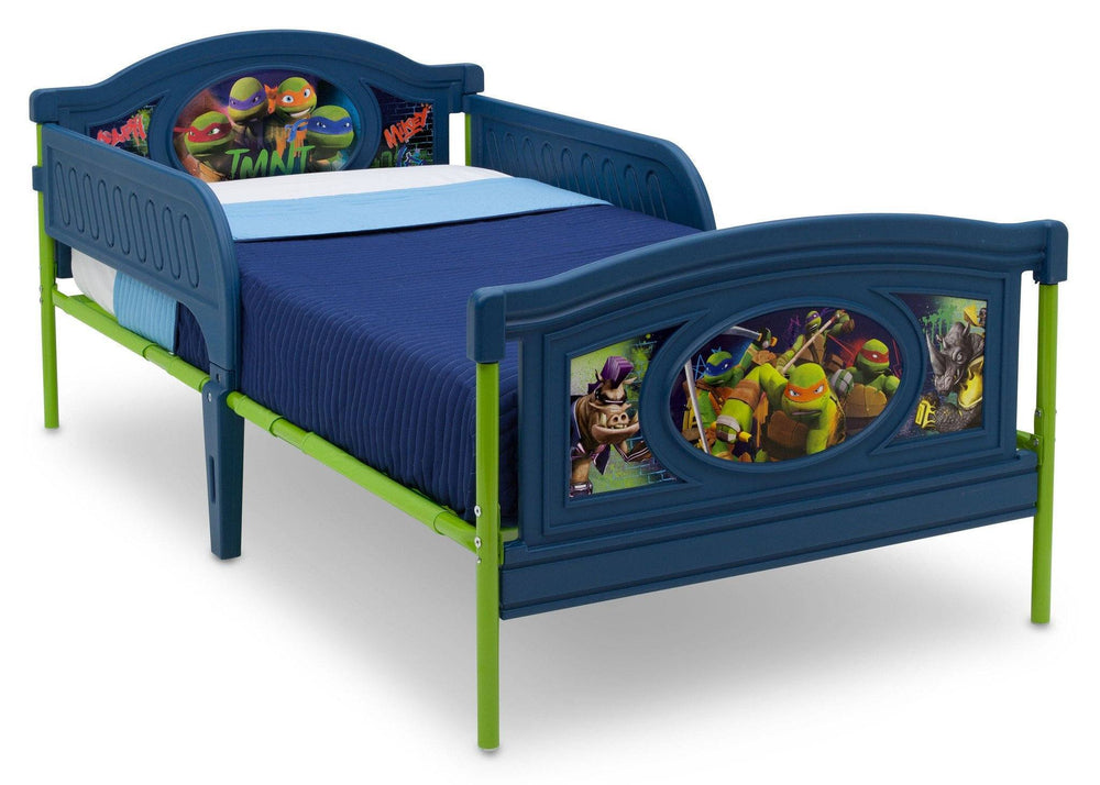 Delta Children Teenage Mutant Ninja Turtles Deluxe Plastic Twin Bed, Right View a1a