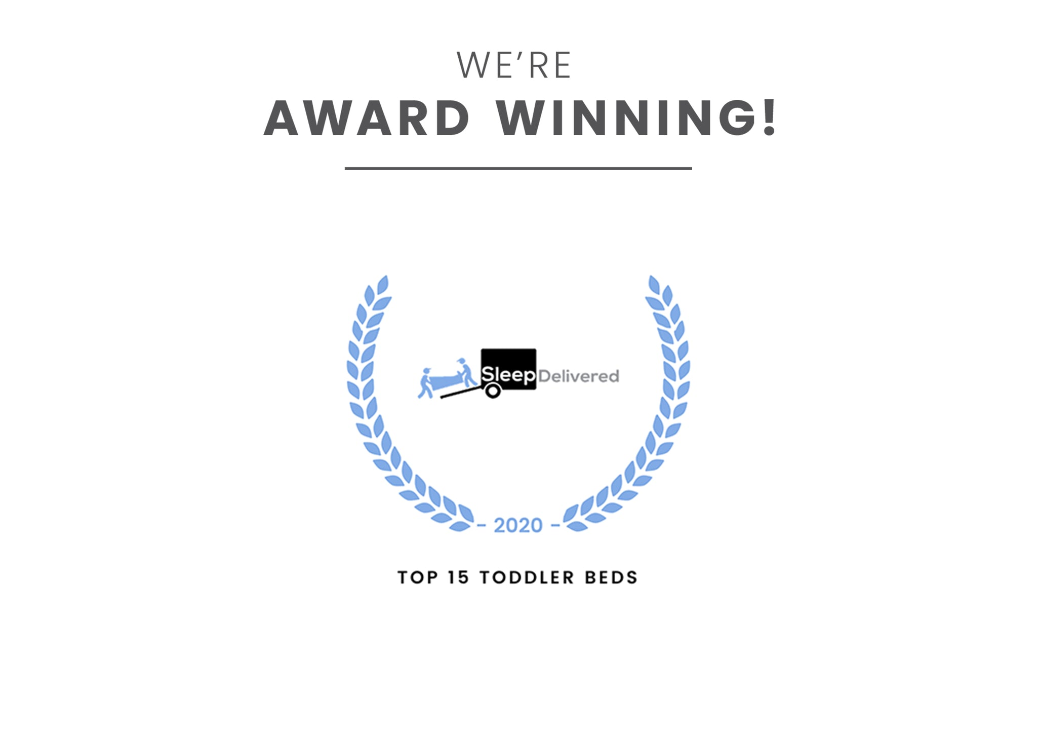 Award badge for Top 15 Toddler Beds Cars (1008) Toddler
