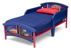 Delta Children Cars Plastic Toddler Bed Left Side View a2a