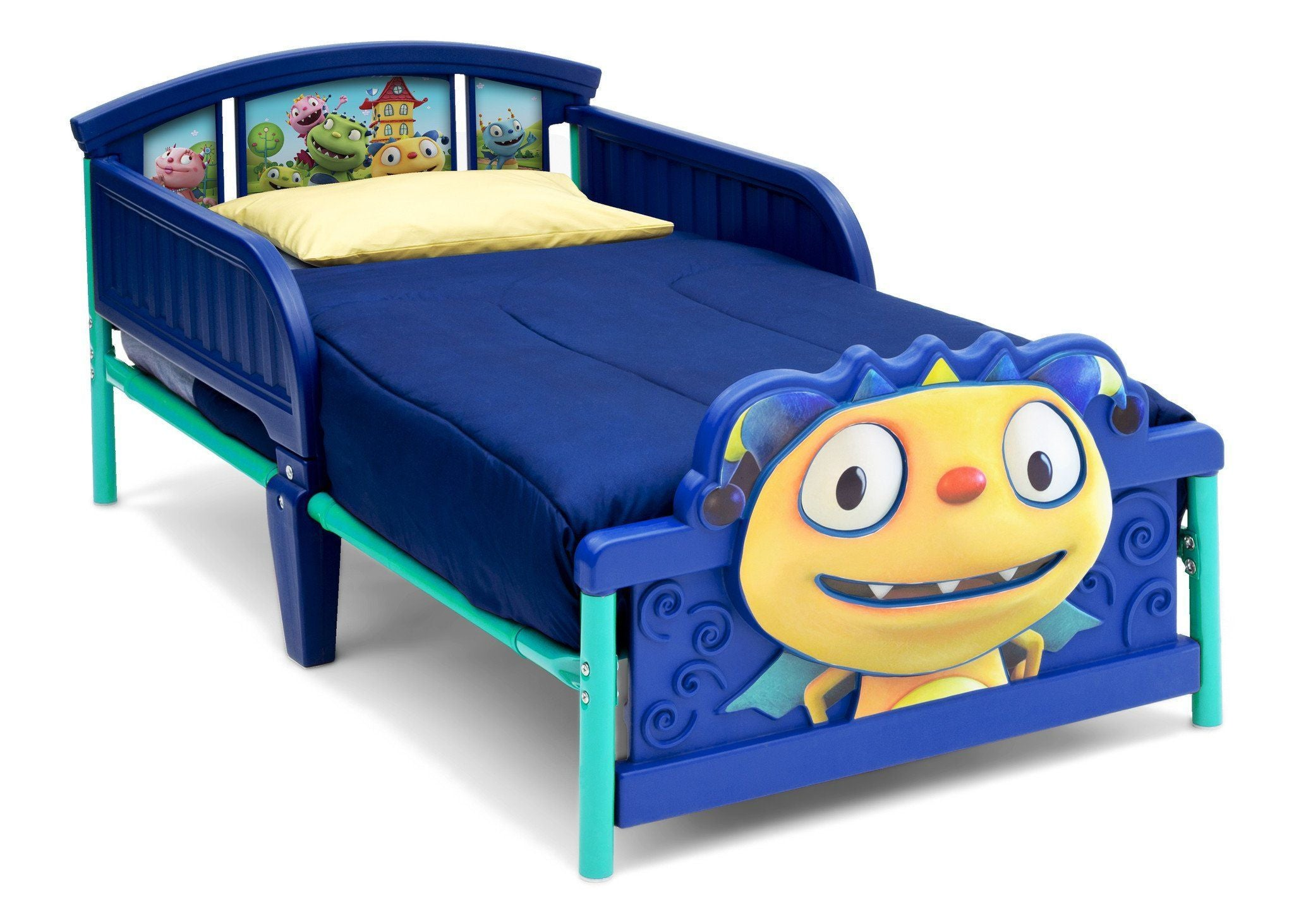 Delta Children Henry Hugglemonster 3D Toddler Bed Right Side View Style-1 a1a