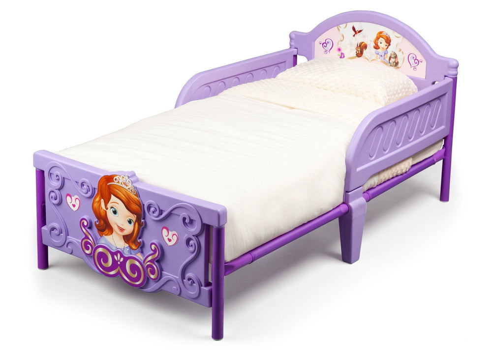 Sofia the First Plastic 3D Toddler Bed