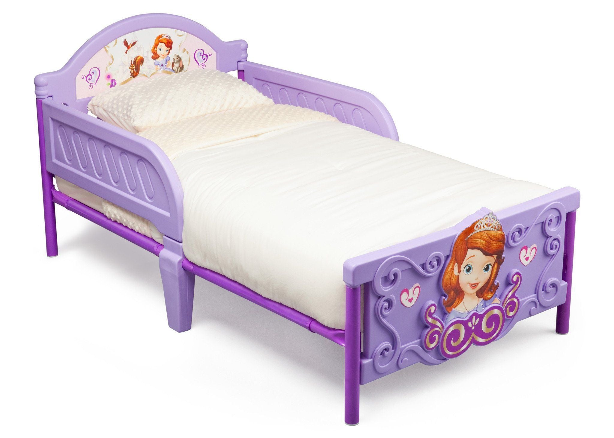 Sofia the First Plastic 3D Toddler Bed | Delta Children