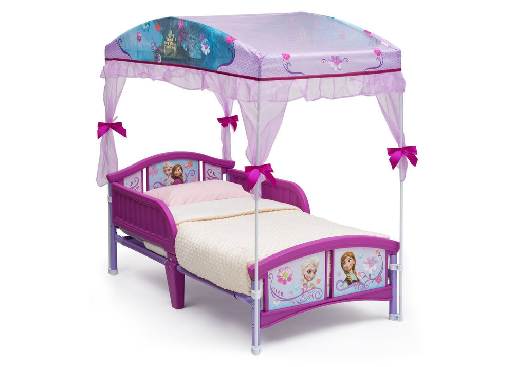 Frozen Toddler Canopy Bed Delta Children