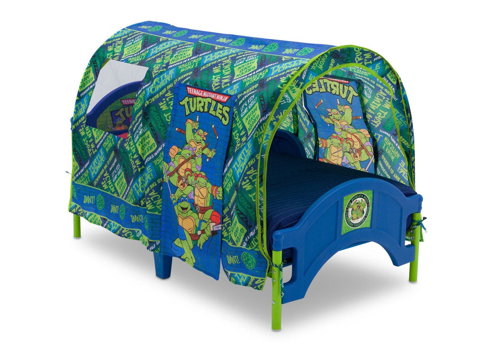 Delta Children Teenage Mutant Ninja Turtles Toddler Tent Bed Right View a2a