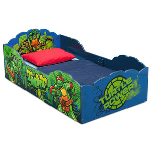 Teenage Mutant Ninja Turtles Wood Toddler Bed