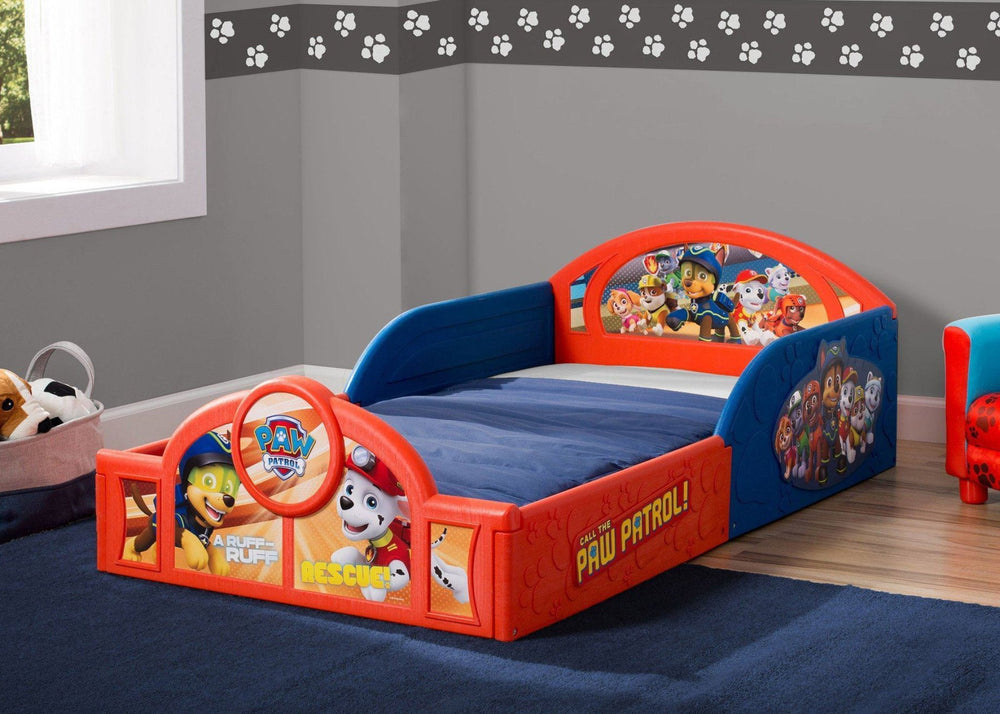 Paw Patrol Deluxe Toddler Bed Delta Children