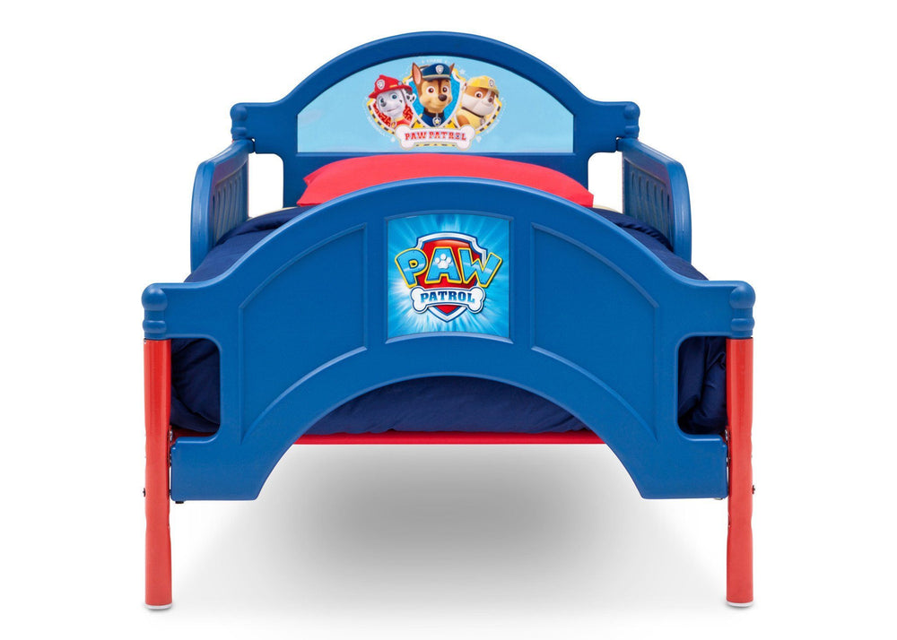 Delta Children Paw Patrol Toddler Bed Front View
