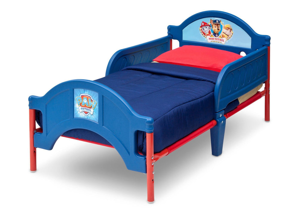 Delta Children Paw Patrol Toddler Bed Left Side View a2a