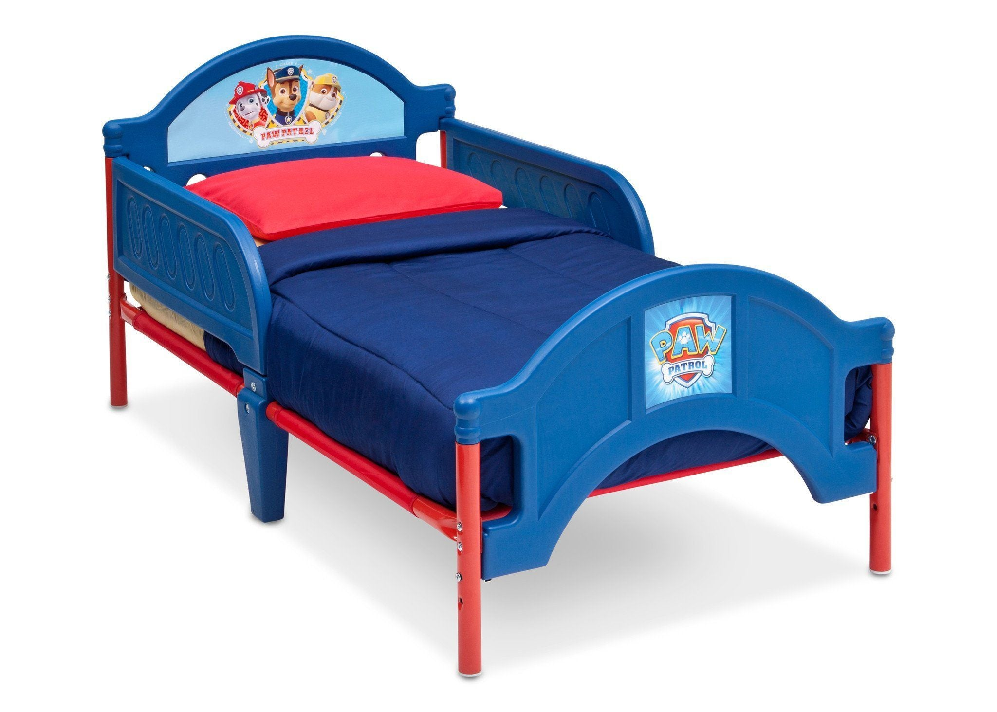 Delta Children Paw Patrol Toddler Bed Right Side View a1a
