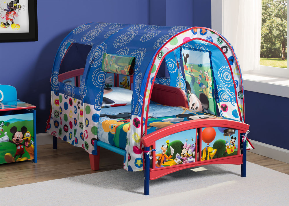 buy online 9e276 97185 Mickey Mouse Toddler Tent Bed – Delta Children