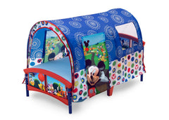 Delta Children Mickey Mouse Toddler Tent Bed, Left View a2a