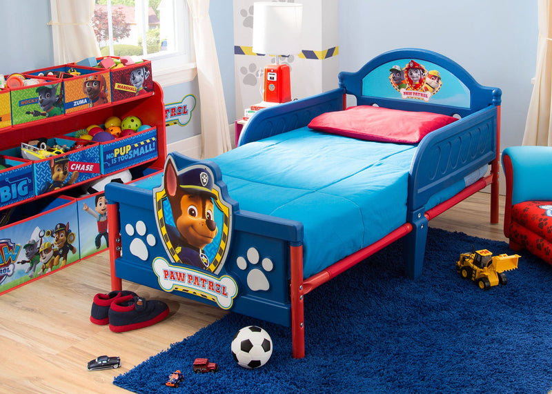 Paw Patrol Toy Organizer Bin Cubby Kids Child Storage Box: PAW Patrol Side Table With Storage