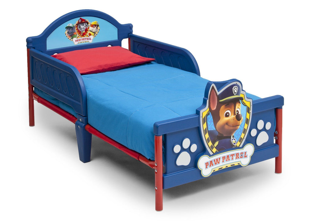 Delta Children PAW Patrol 3D Toddler Bed, Right View a2a
