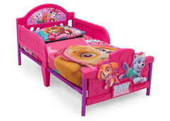Delta Children PAW Patrol - Skye & Everest - 3D Toddler Bed Right View a2a
