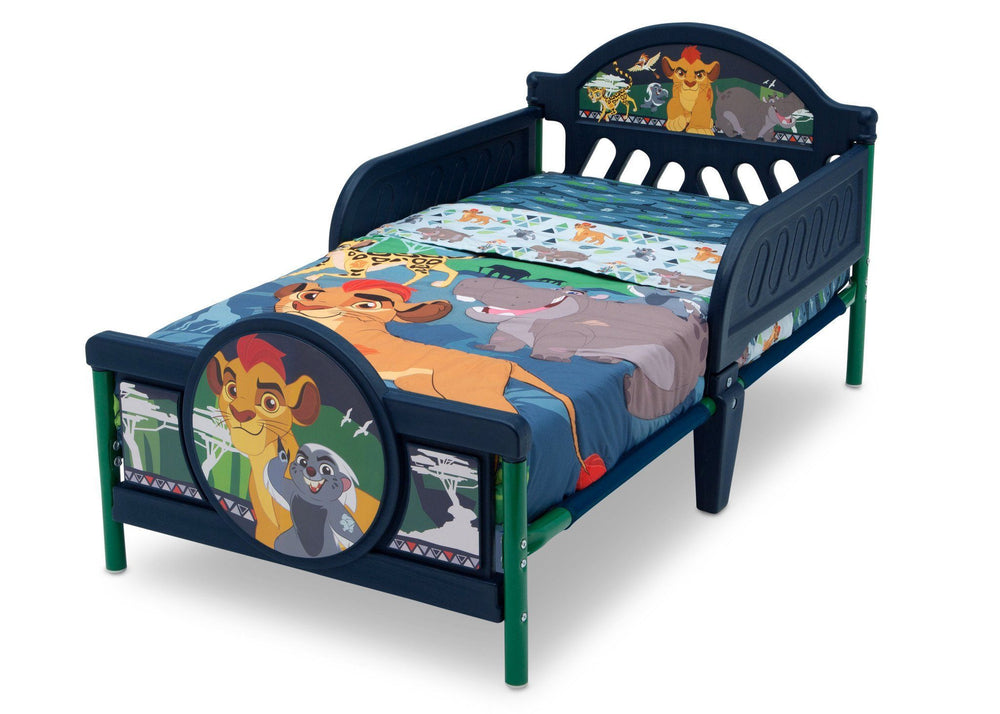Delta Children The Lion Guard 3D Toddler Bed Left View a3a