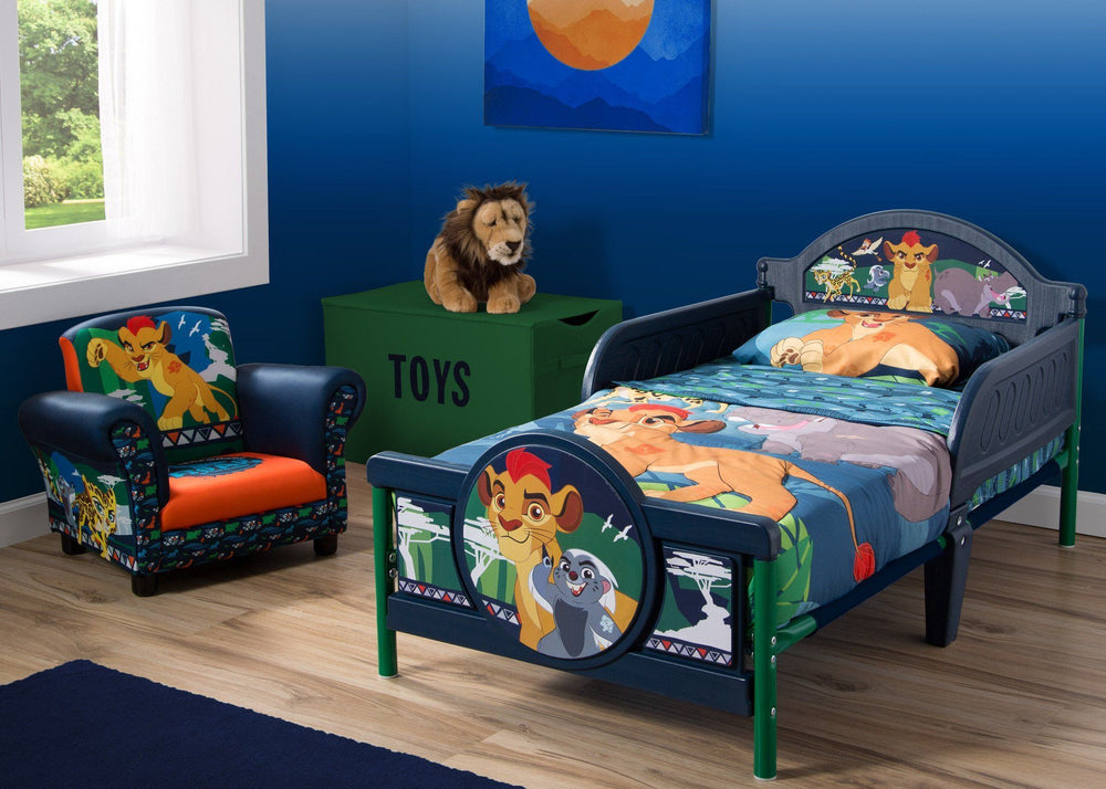 Delta Children The Lion Guard 3D Toddler Bed Room View a1a