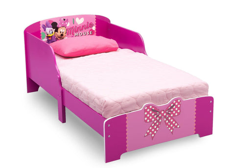 Minnie Mouse Wood Toddler Bed